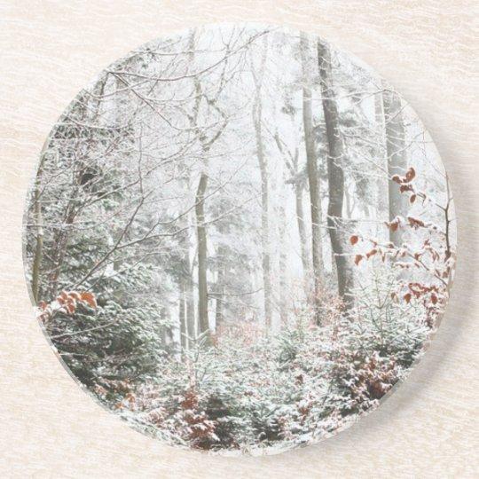 Christmas Woodland Coaster