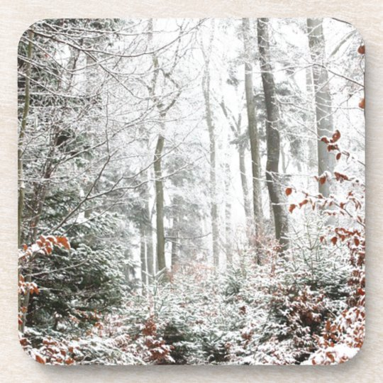 Christmas Woodland Coaster