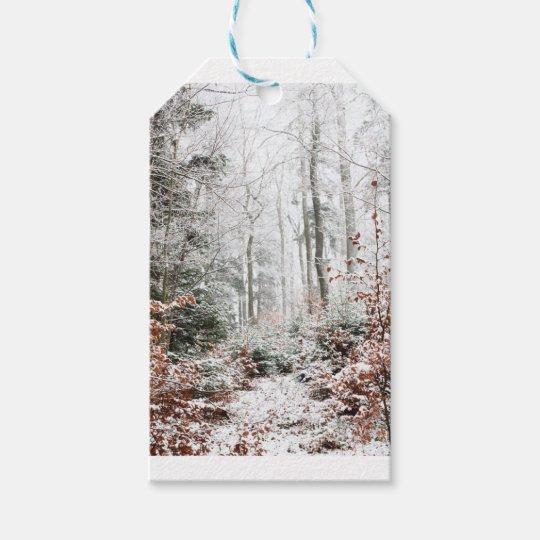Christmas Woodland Gift Tags