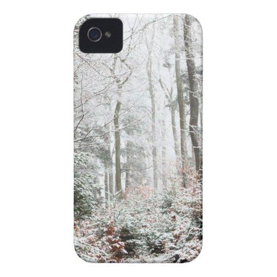 Christmas Woodland iPhone 4 Case