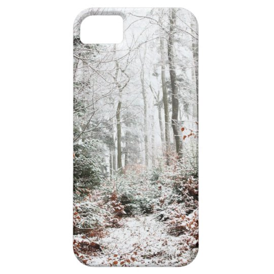Christmas Woodland iPhone 5 Cover