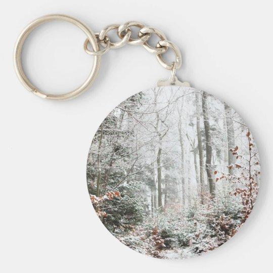 Christmas Woodland Keychain