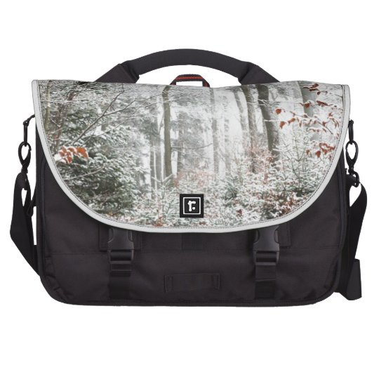 Christmas Woodland Laptop Commuter Bag