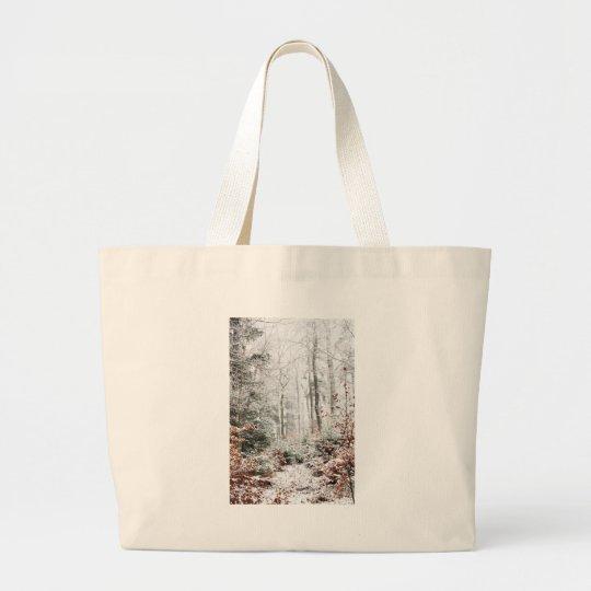 Christmas Woodland Large Tote Bag