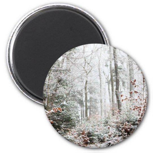 Christmas Woodland Magnet