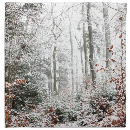 Christmas Woodland Napkin