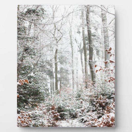Christmas Woodland Plaque