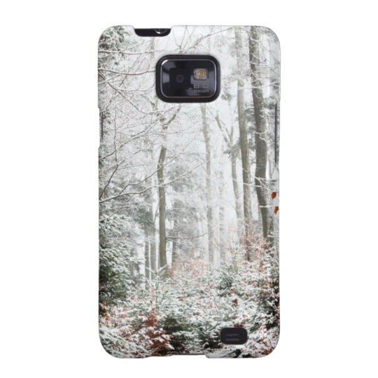Christmas Woodland Samsung Galaxy SII Case