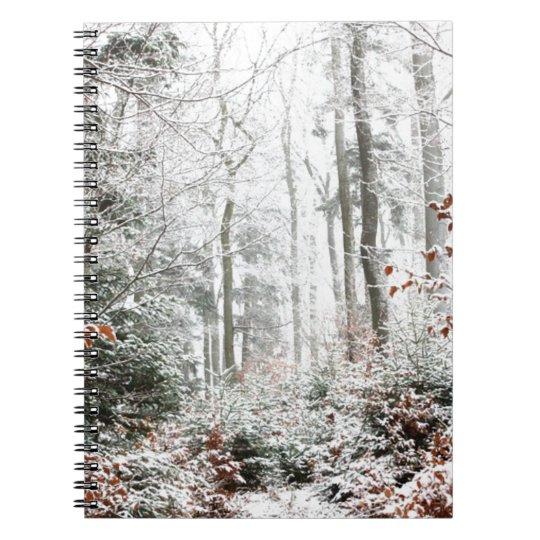 Christmas Woodland Spiral Notebook