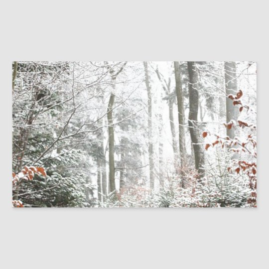 Christmas Woodland Sticker