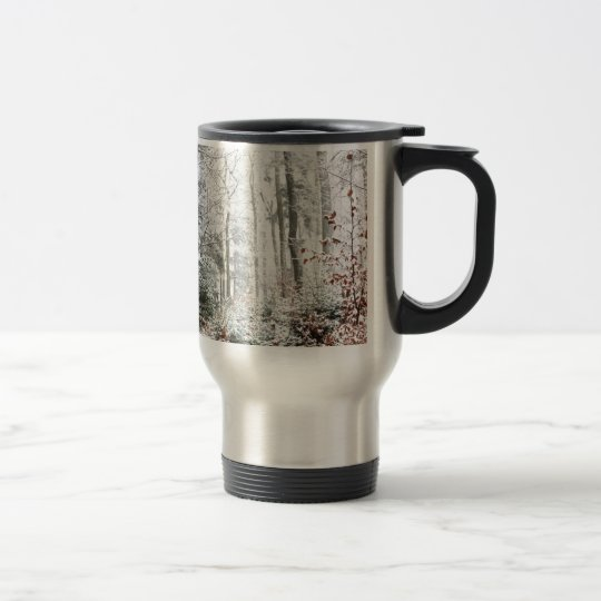 Christmas Woodland Travel Mug