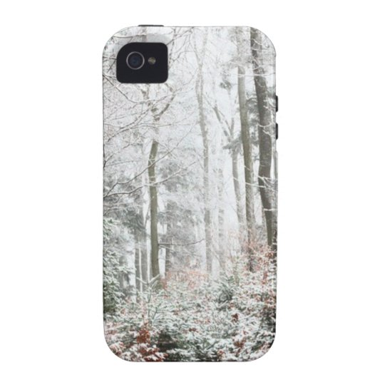Christmas Woodland Vibe iPhone 4 Cases