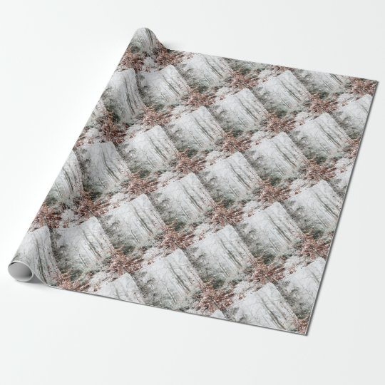 Christmas Woodland Wrapping Paper