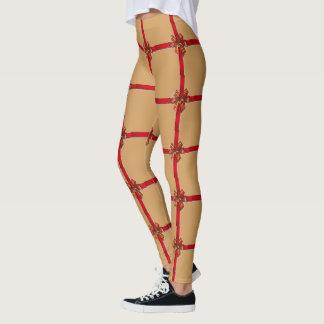 Christmas Wrap Leggings