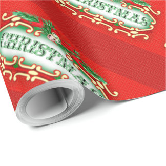 CHRISTMAS wrapping paper 2 Glossy Wrapping Paper
