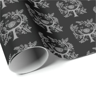 Christmas Wrapping Paper-Partridge In Pear Tree Wrapping Paper