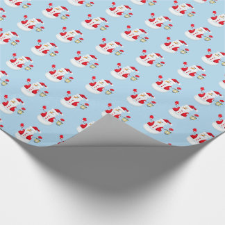 Christmas Wrapping Paper-Snowman Wrapping Paper