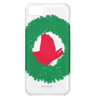 Christmas Wreath & Llama Christmas Card and more iPhone 5C Cases