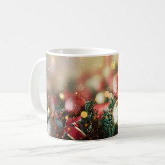Christmas wreath ornament decorative Xmas mug