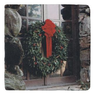 Christmas Wreath Trivet