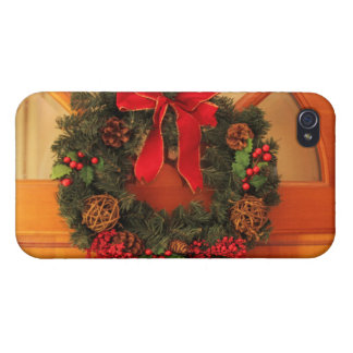 Christmas Wreaths iPhone 4 Cases