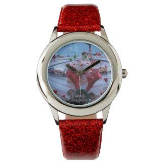 christmas wristwatch