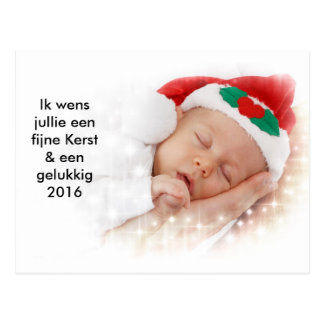 Christmas-wrong baby gives birth with Christmas Postcard
