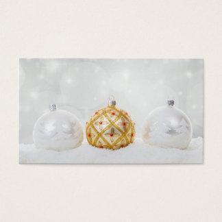 Christmas Xmas Celebration Business Card