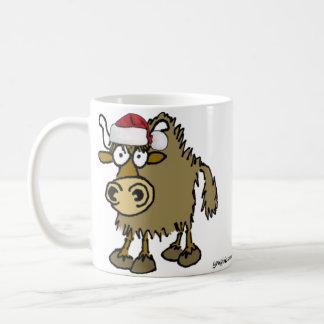Christmas Yak Coffee Mug