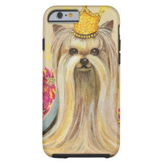 Christmas Yorkie Princess Phone Cover