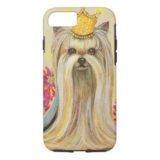Christmas Yorkie Princess Phone Cover