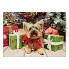Christmas - Yorkshire Terrier - Bella Card