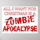 Christmas Zombie Apocalypse Poster