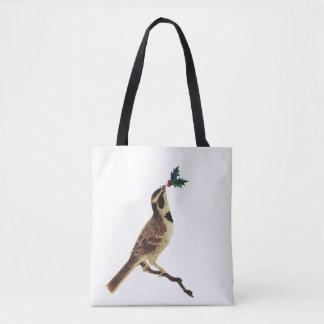 ChristmasBird Tote Bag