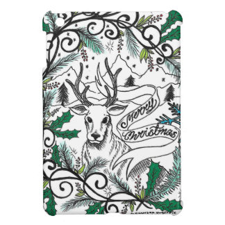 Christmasraindeer by Sweetpieart iPad Mini Covers