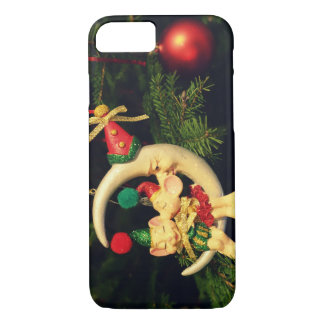 Christmas's mice on the Moon iPhone 7 Case