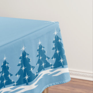 ChristmasTablecloth Festive Holiday Tablecloths