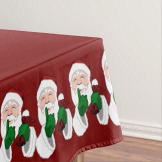 ChristmasTablecloth Festive Santa Tablecloths