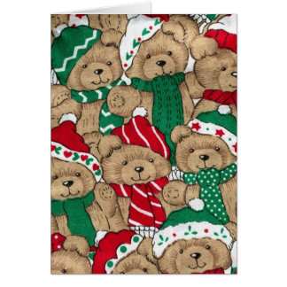 ChristmasTeddys Card