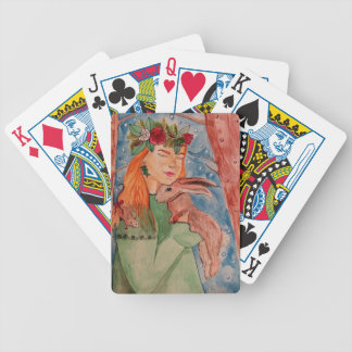 christmaswitch bicycle playing cards