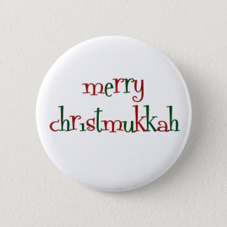 christmukkah 2 inch round button