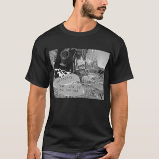 """Christophe """"The Life Of An Outlaw"""" T-Shirt"""