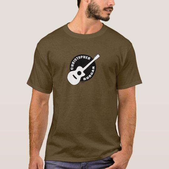 Christopher Burgan Guitar Logo Long Sleeve T-Shirt
