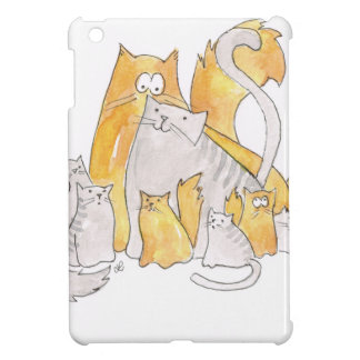 Christopher Cat and his Marvelous family iPad Mini Covers