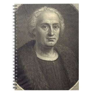 Christopher Columbus 1892 Spiral Notebook