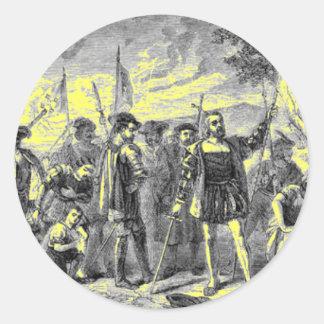 Christopher Columbus Classic Round Sticker