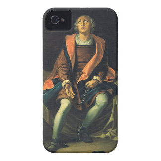 Christopher Columbus paint by Antonio de Herrera iPhone 4 Cover
