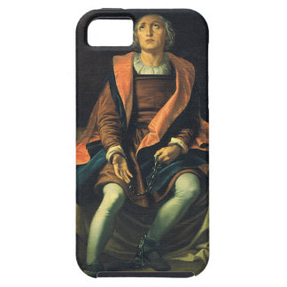 Christopher Columbus paint by Antonio de Herrera iPhone 5 Cover