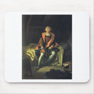 Christopher Columbus paint by Antonio de Herrera Mouse Pad