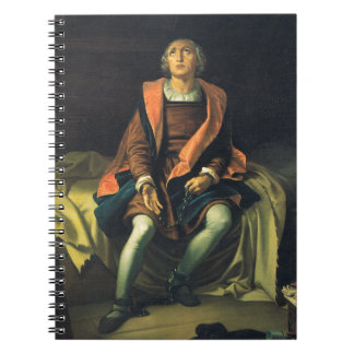 Christopher Columbus paint by Antonio de Herrera Notebooks
